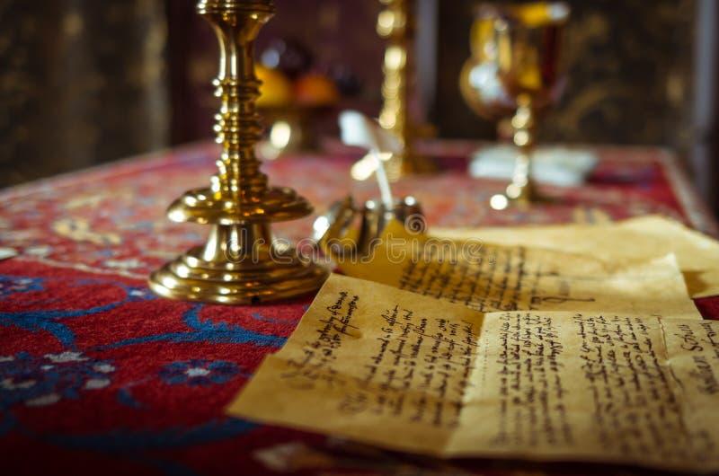 Lettre de Shakespeare photos libres de droits