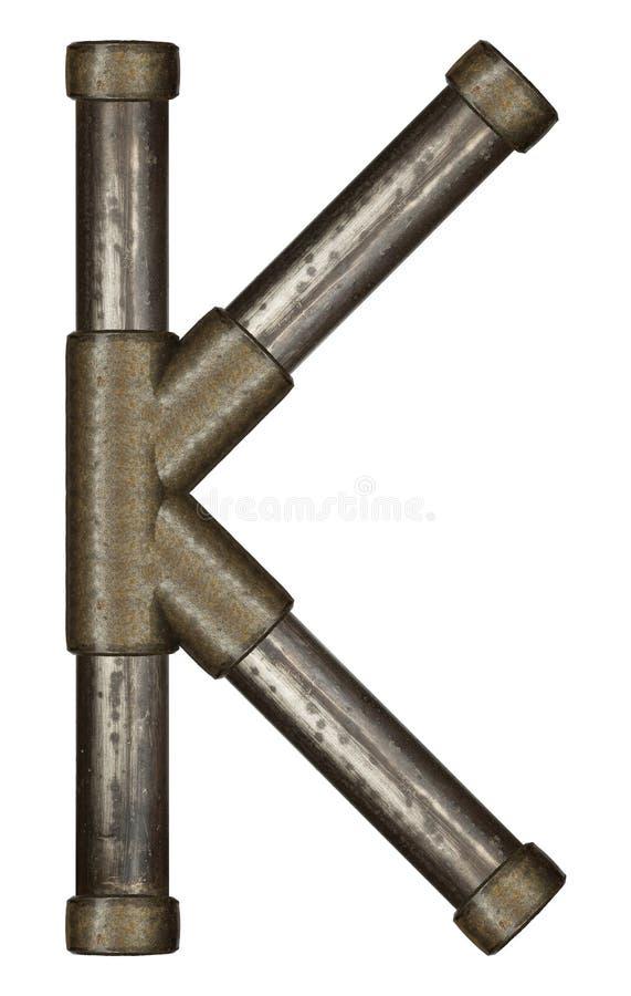 Download Lettre de tuyau photo stock. Image du fonte, lettre, alphabet - 56483876