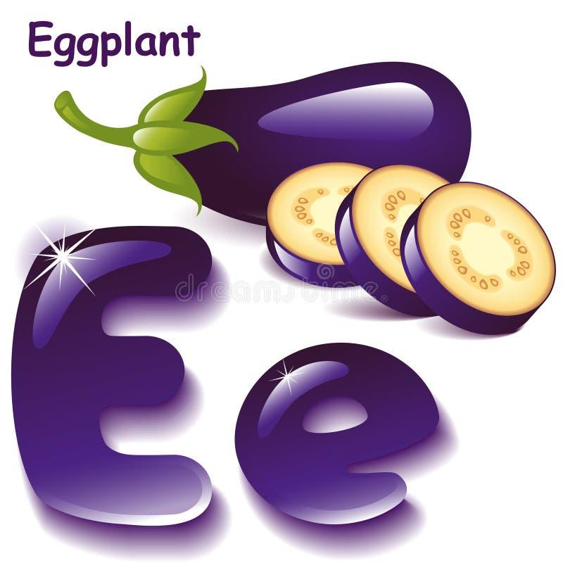 Lettre E illustration de vecteur