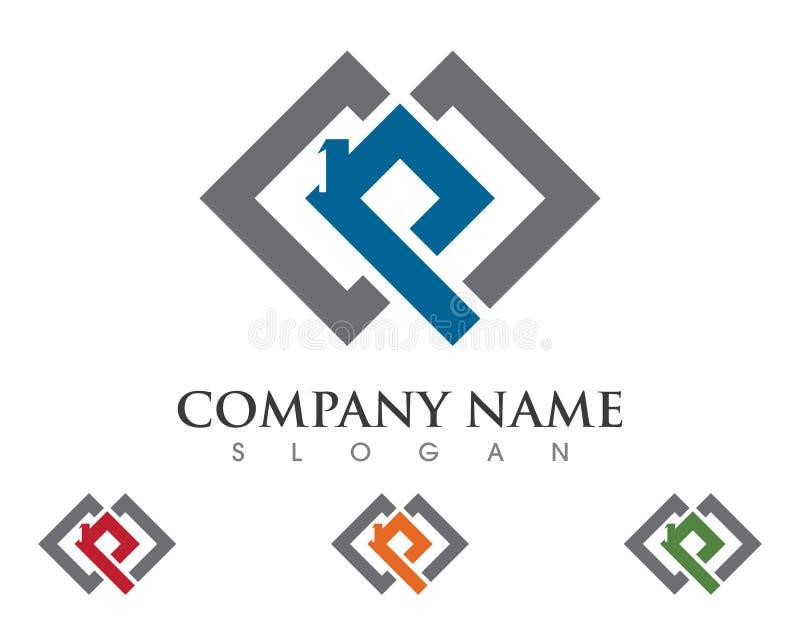 Lettre Logo Business de P illustration libre de droits