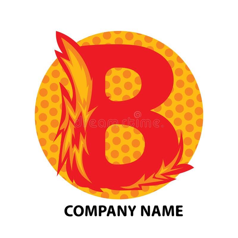 Lettre Logo Design de B illustration de vecteur