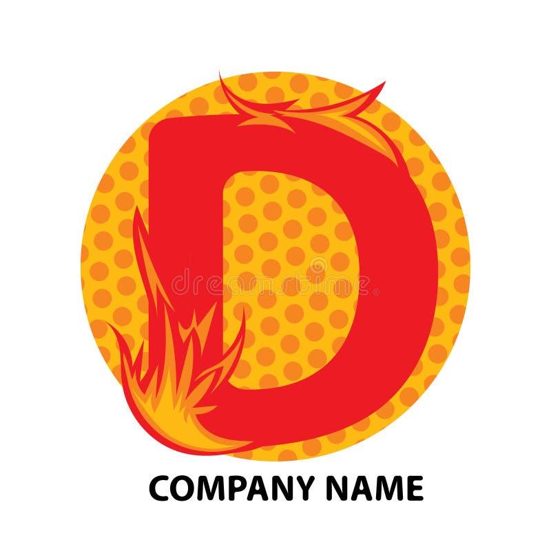 Lettre Logo Design de D illustration libre de droits