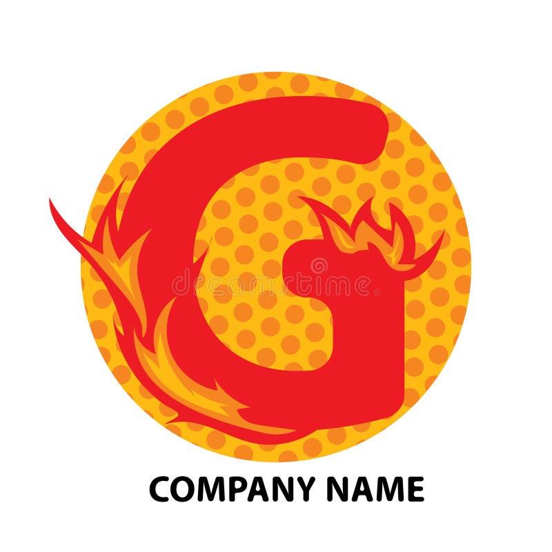 Lettre Logo Design de G illustration de vecteur