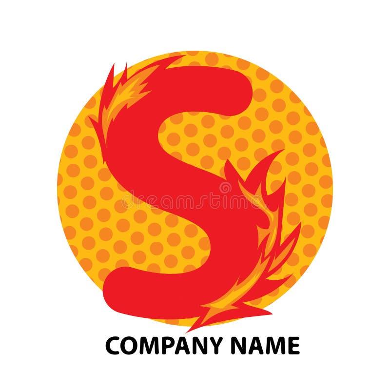 Lettre Logo Design de S illustration stock
