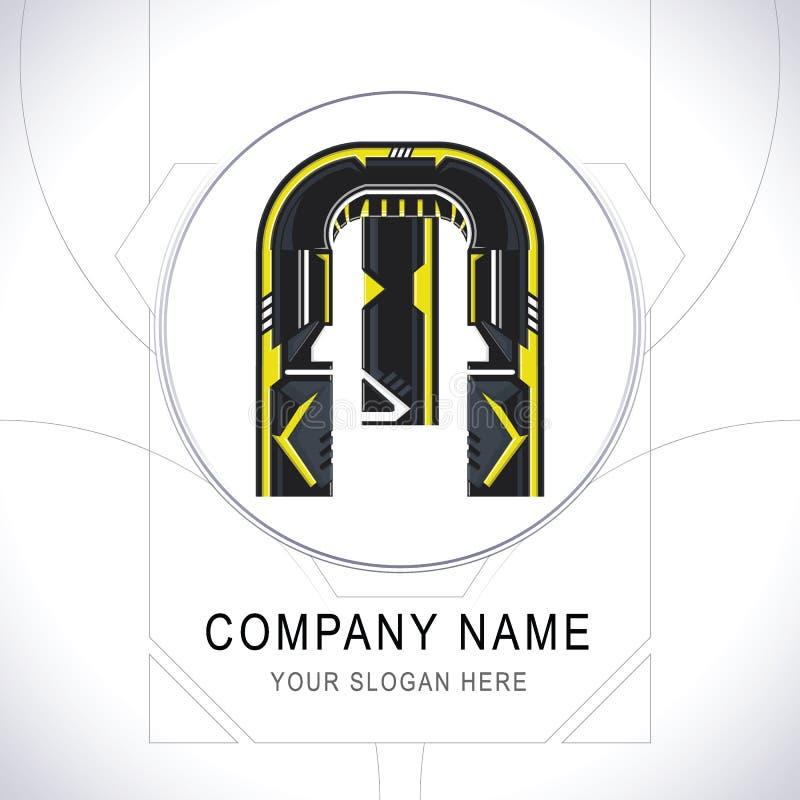 Lettre M Gamer Community Logo Symbol Icon Vector illustration stock