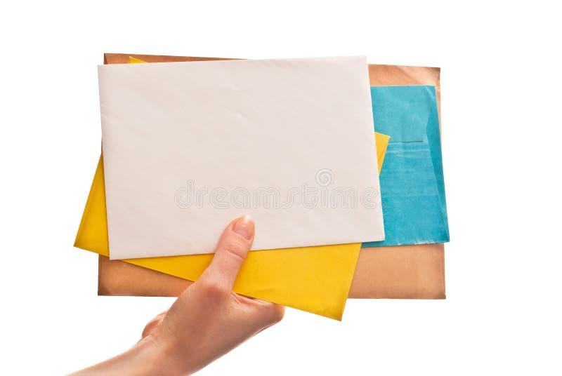 Lettres à disposition images stock