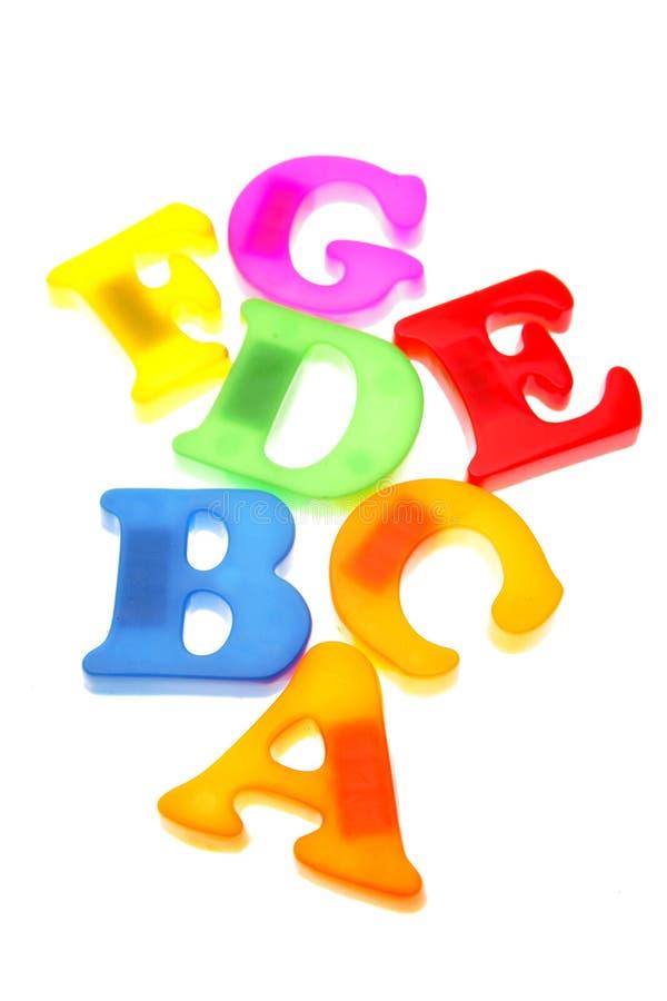 Lettres d'alphabet photo libre de droits