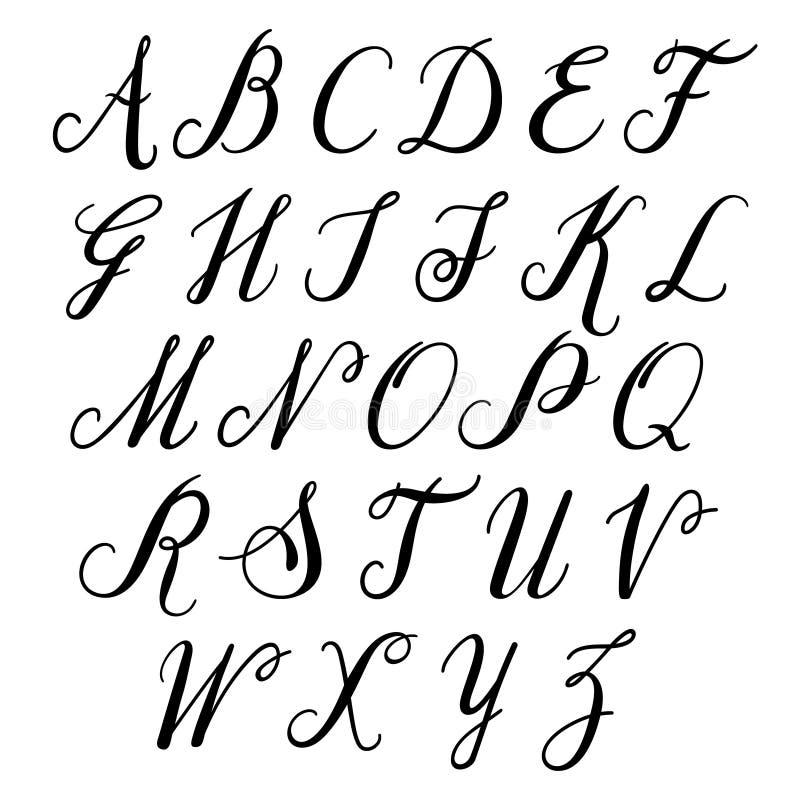 lettres d 39 alphabet majuscule alphabet de vecteur illustration de vecteur illustration du. Black Bedroom Furniture Sets. Home Design Ideas