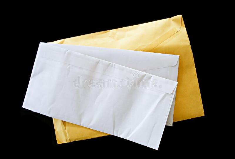 Lettres de courrier images stock