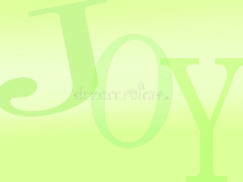 Lettres de fond de joie illustration libre de droits