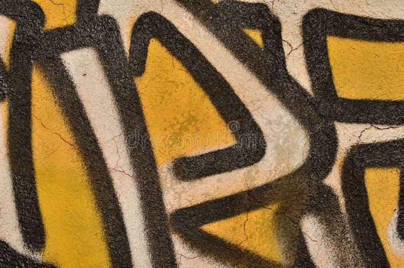 Lettres de graffiti photo stock