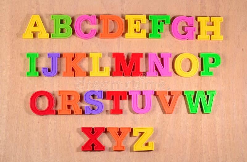 Download Lettres En Plastique Colorées D'alphabet Image stock - Image du message, pièce: 56491057