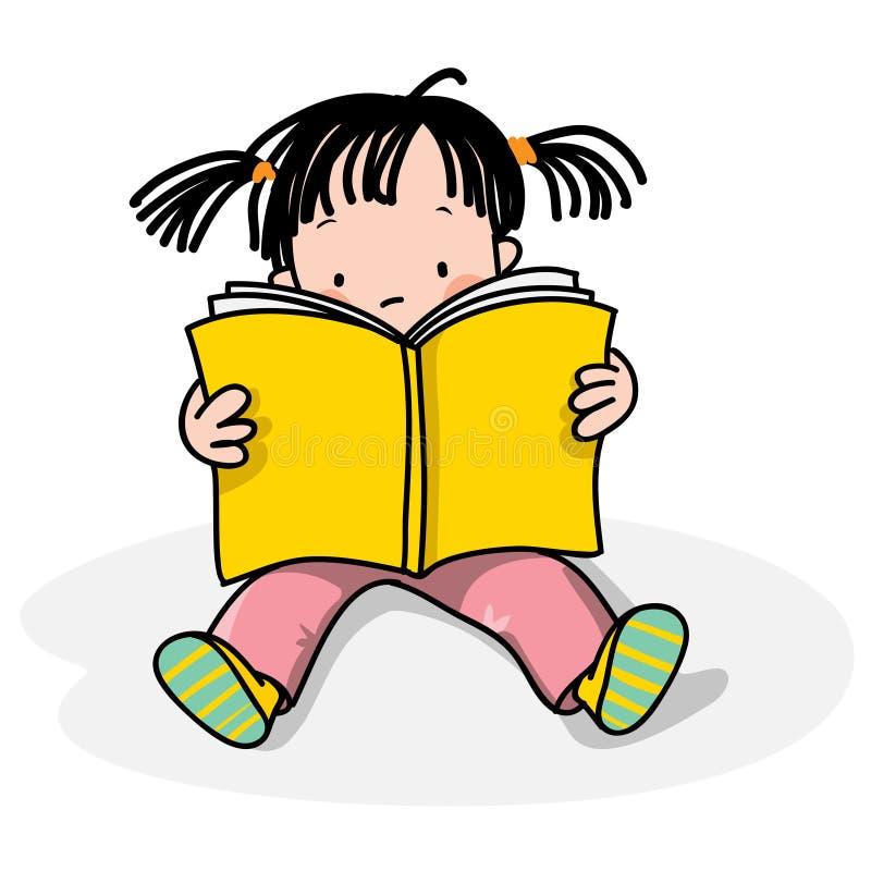 Lettura dei bambini royalty illustrazione gratis