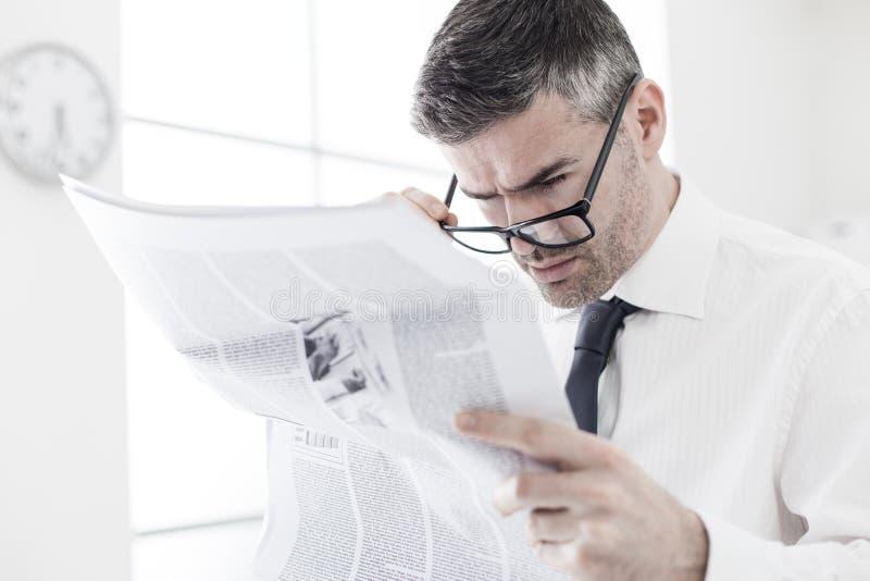 Letzte Nachrichten stockfotografie