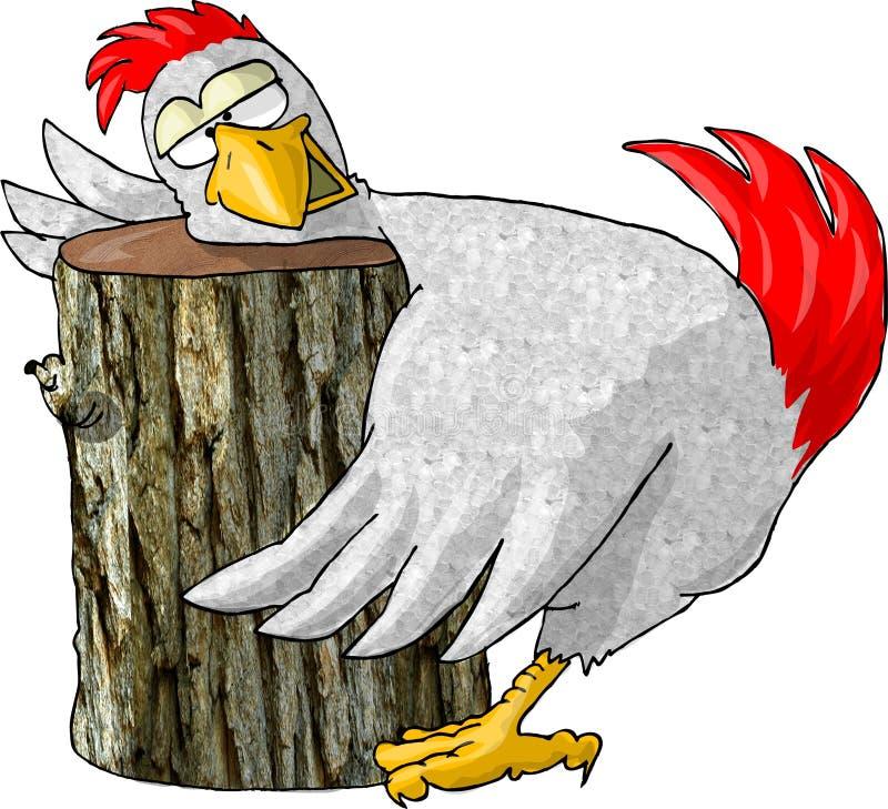 Download Letzte Riten des Huhns stock abbildung. Illustration von hacken - 39522
