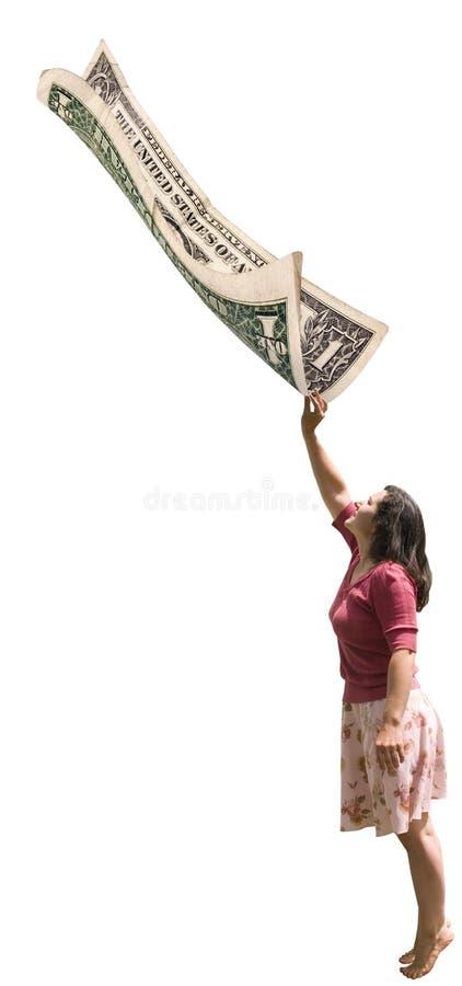 Letzter Dollar lizenzfreie stockfotografie