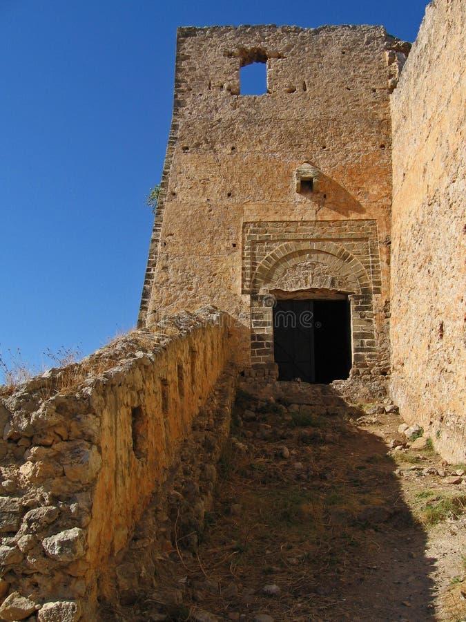 Leucade, castello 4 immagini stock libere da diritti