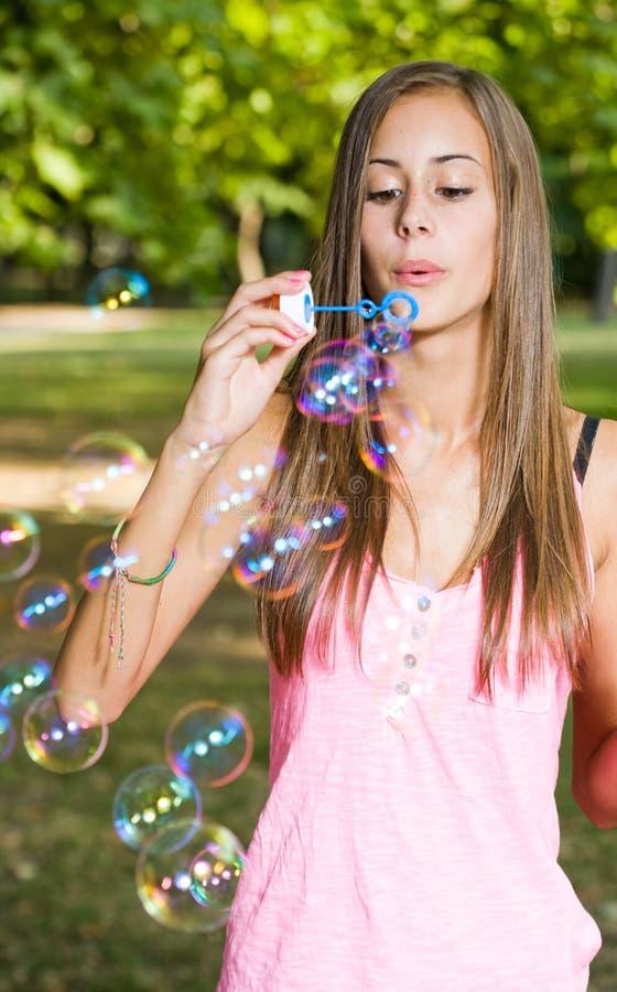 Leuchte als Luftblase. lizenzfreie stockfotos