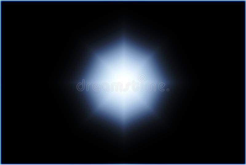 Leuchte in der Dunkelheit lizenzfreies stockbild