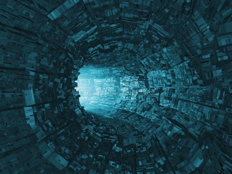 Leuchte am Ende des Tunnels