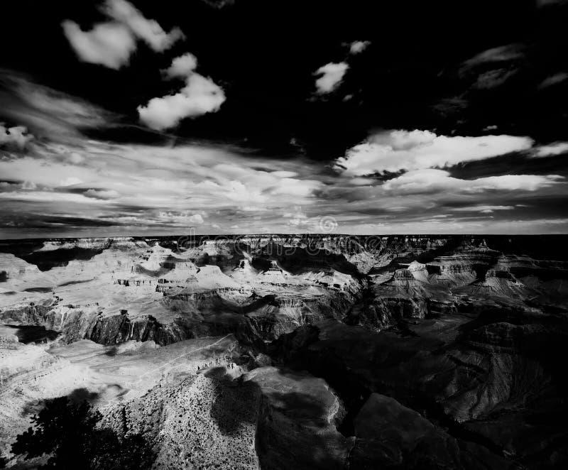 Leuchte und Schatten im Grand Canyon stockfoto