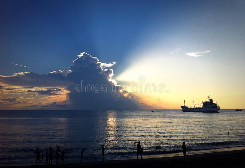 Leuchte vom Himmel lizenzfreies stockfoto