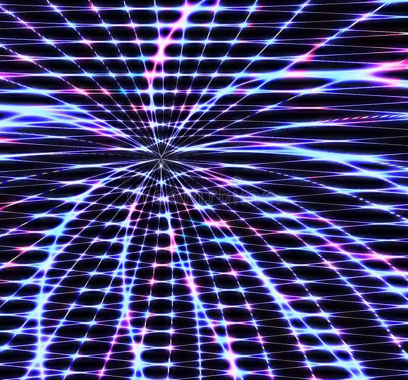 Leuchten stock abbildung