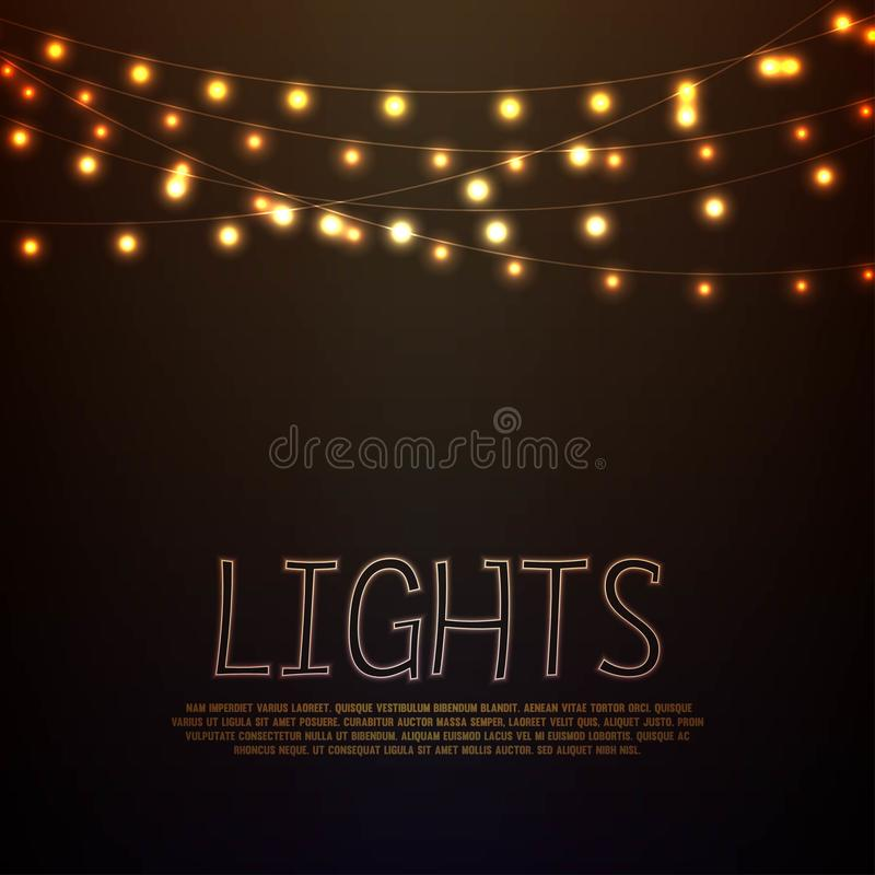 leuchten lizenzfreie abbildung
