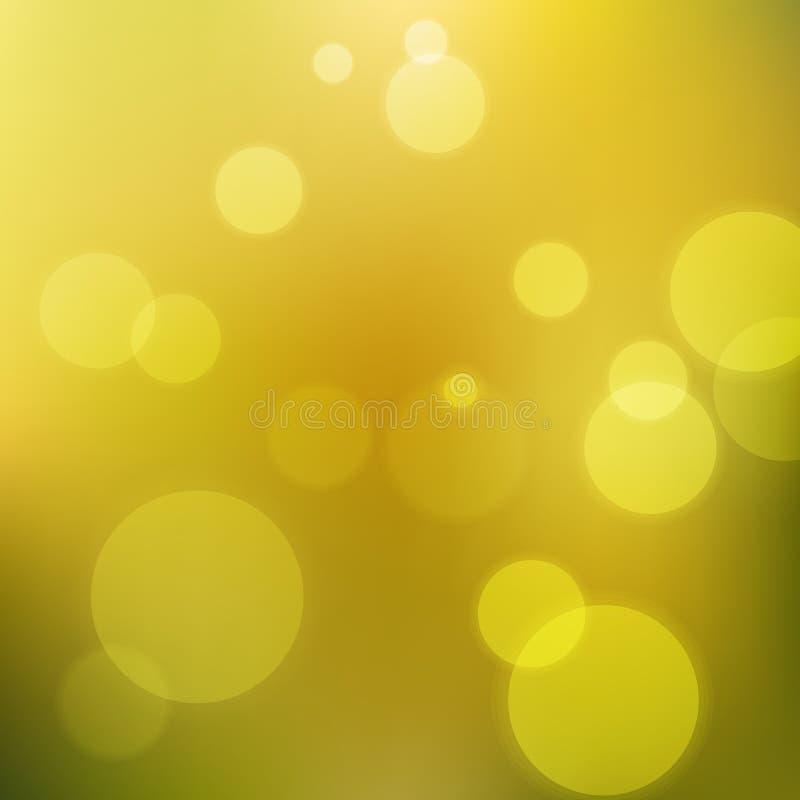 Leuchten auf grünem Hintergrund lizenzfreies stockfoto