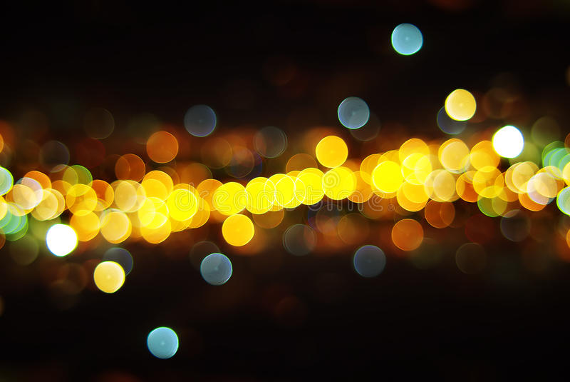 Leuchten der Stadt lizenzfreie stockfotos