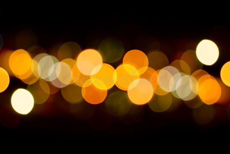 Leuchten der Stadt lizenzfreies stockfoto