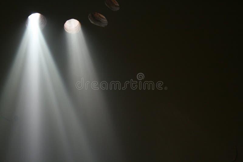 Leuchten im Morgen Hamam stockfoto