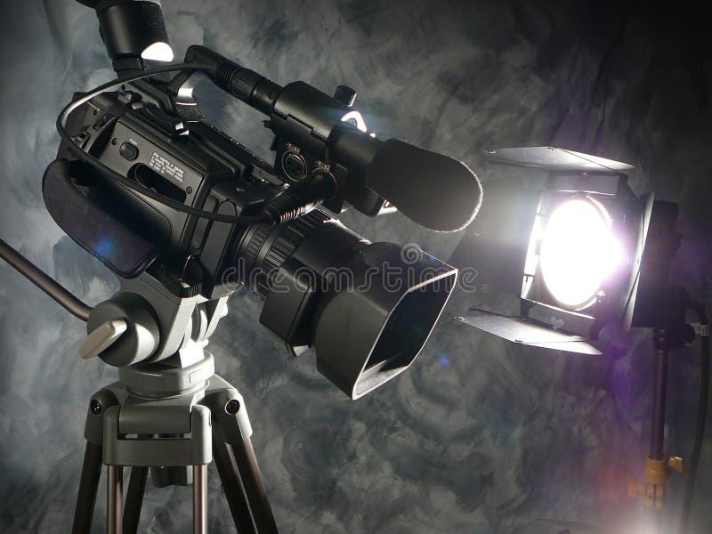 Leuchten, Kamera, Tätigkeit! lizenzfreie stockfotos