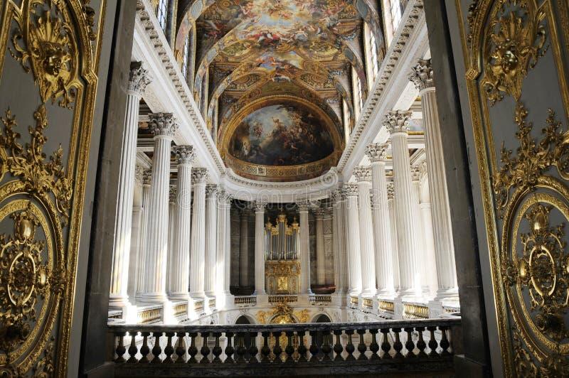 Leuchtender königlicher Palast stockfotos