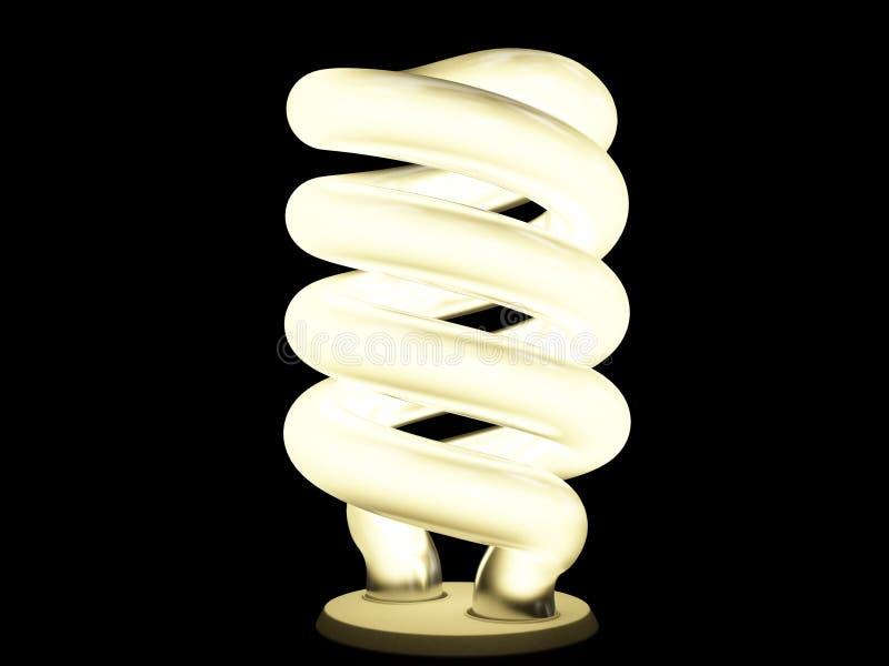 Leuchtstofflampe lizenzfreie abbildung