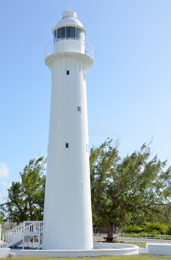 Leuchtturm auf großartigem Turk Islan stockfotos