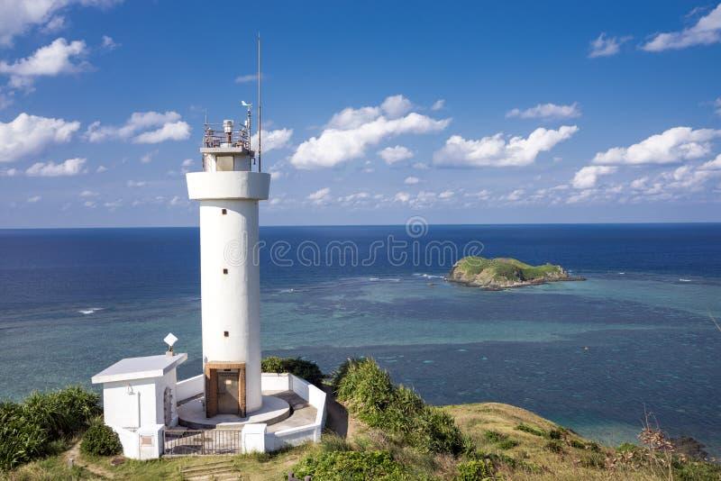 Leuchtturm auf Kap stockbilder