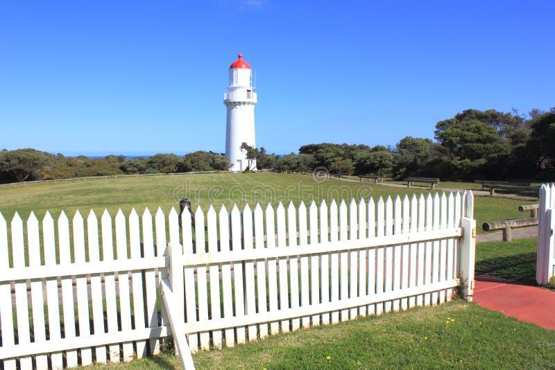 Leuchtturm in Australien lizenzfreie stockfotos