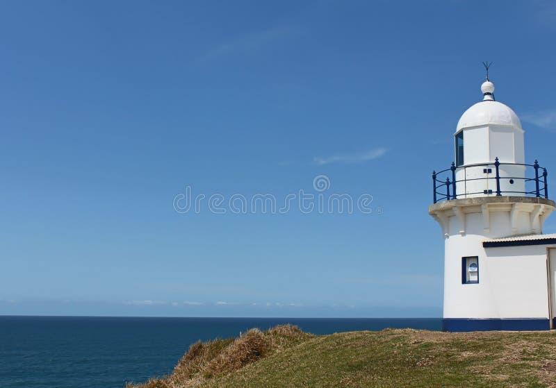 Leuchtturm bei PortMacquarie Australien stockfotos