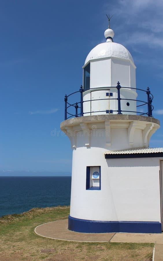 Leuchtturm bei PortMacquarie Australien lizenzfreie stockbilder