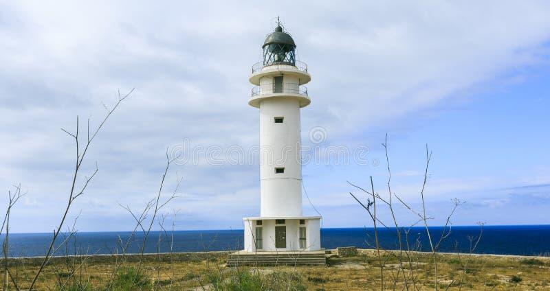 Leuchtturm in Formentera lizenzfreie stockfotografie