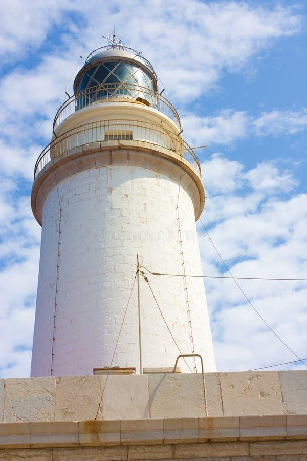 Leuchtturm am formentor lizenzfreies stockfoto