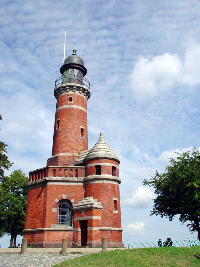 Leuchtturm Holtenau stockbilder