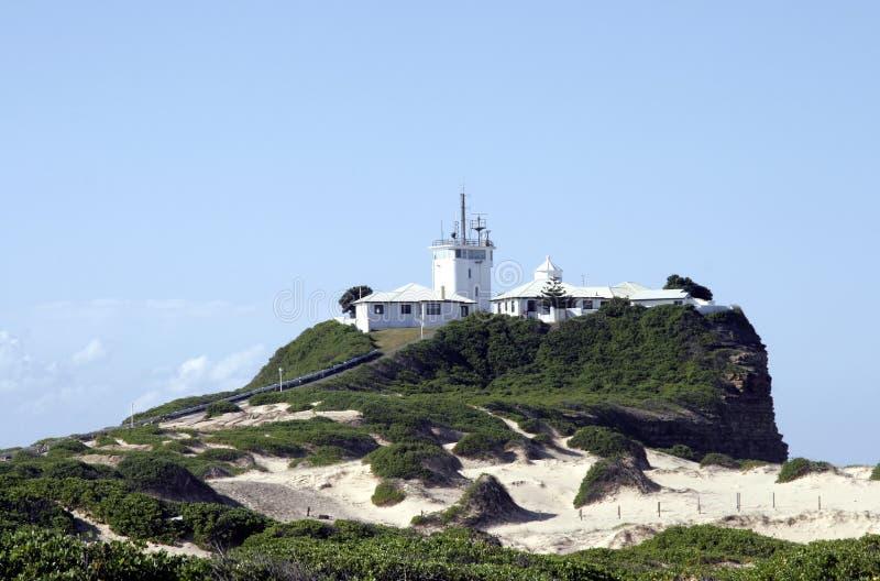 Leuchtturm-Insel lizenzfreie stockbilder
