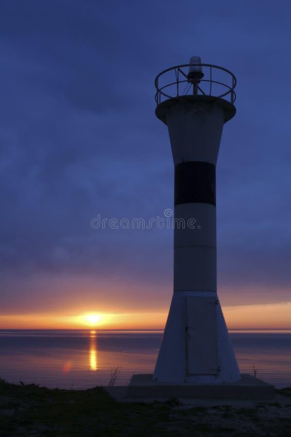 Download Leuchtturm IV stockfoto. Bild von sonnenuntergang, frieden - 35154