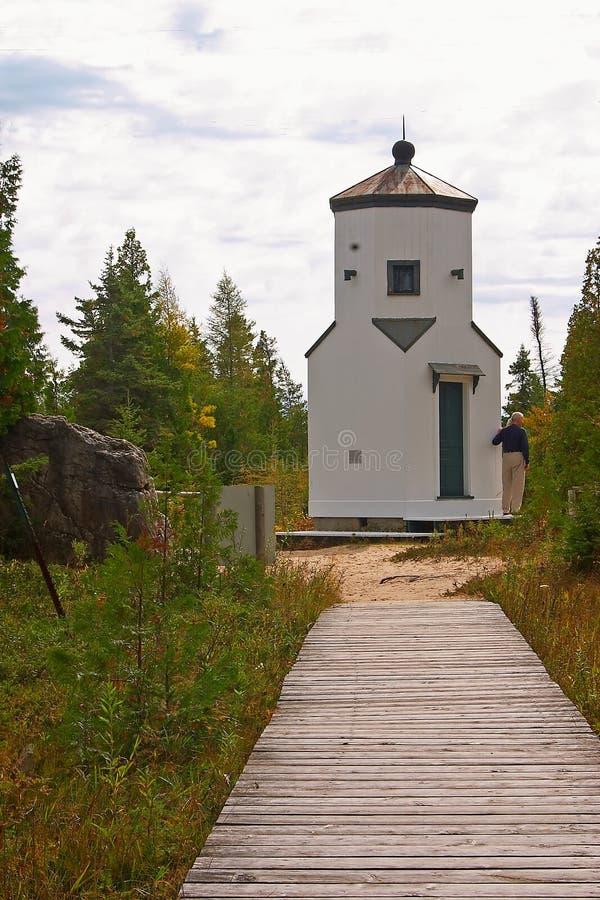 Leuchtturm Am Kante-Schongebiet Stockbilder