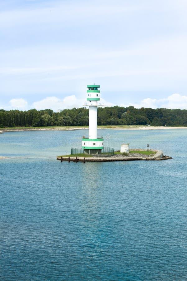Leuchtturm Kiel stockfoto