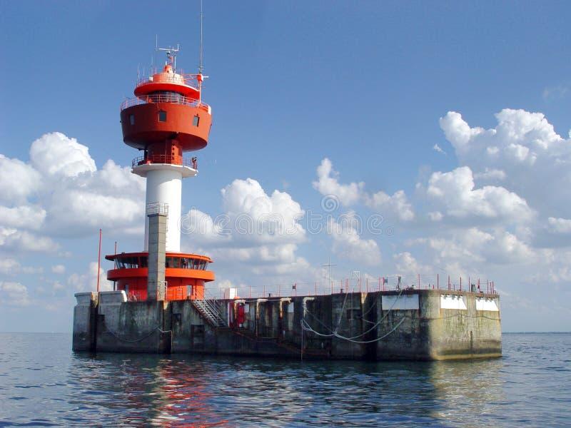 Leuchtturm Kiel stockbilder