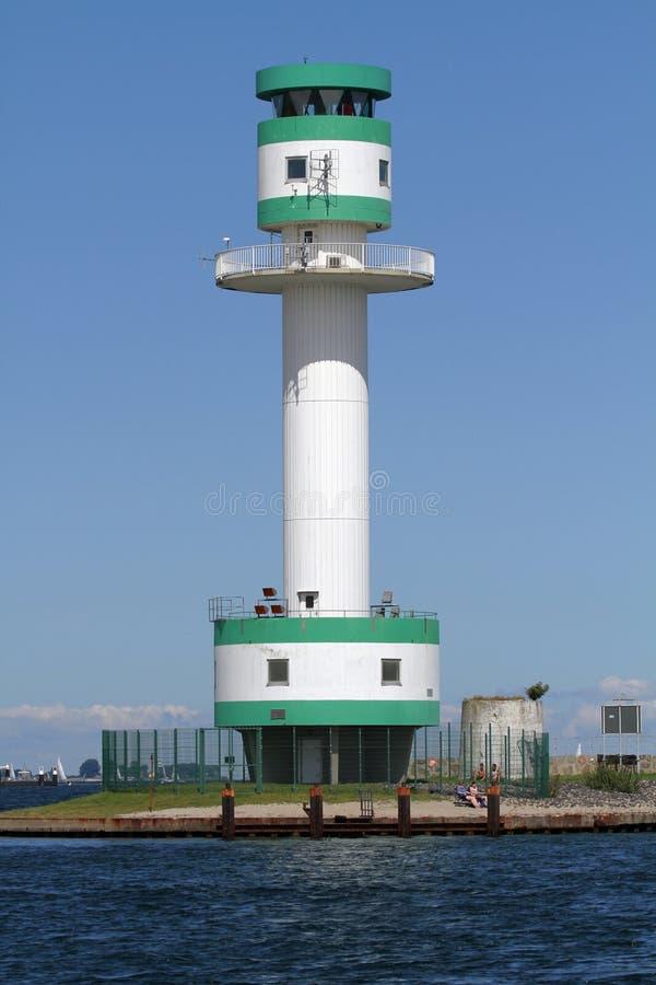 Leuchtturm in Kiel Falkenstein lizenzfreies stockbild