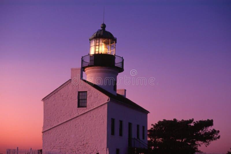 Leuchtturm-Leuchtfeuer Stockfotografie